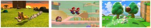 スーパーマリオ3Dワールド・フューリーワールド Amazon限定ネコマリオ ネコピーチのぬいぐるみセット