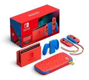 Nintendo Switch マリオレッド×ブルー セット セット内容